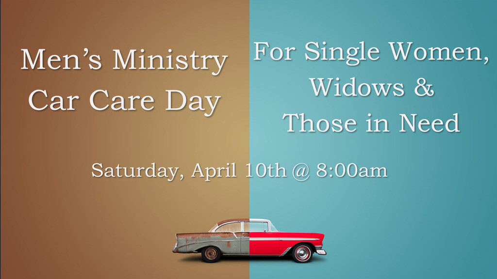 Car Care Day for Single Women & Widows